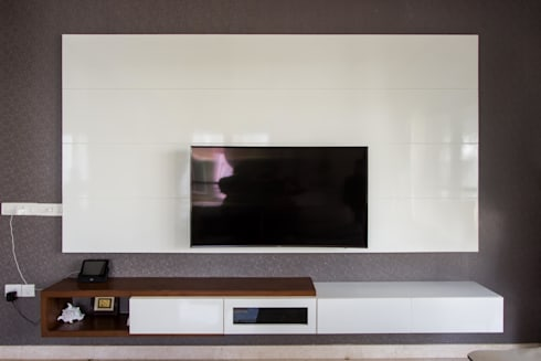 Villa Project @ Whitefield Bangalore : classic Living room by In Built Concepts