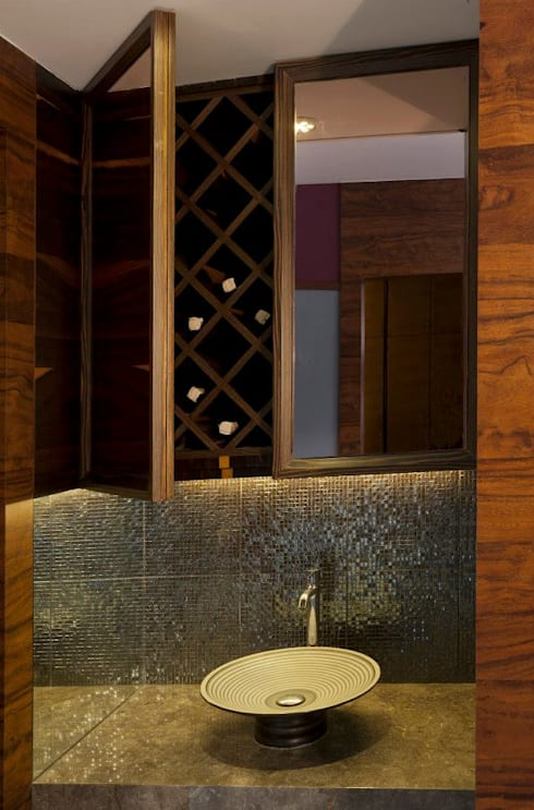 Mittal Residence, Colaba, Mumbai : eclectic Bathroom by Inscape Designers