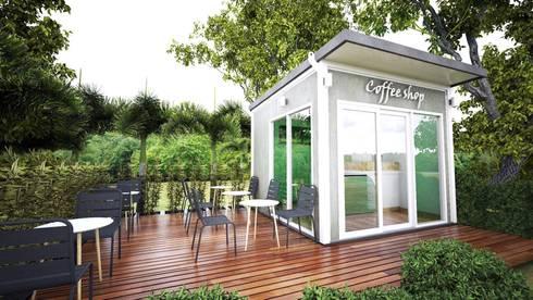 ร้านกาแฟสำเร็จรูป:   by บริษัท เอเทค โปรดักชั่น จำกัด