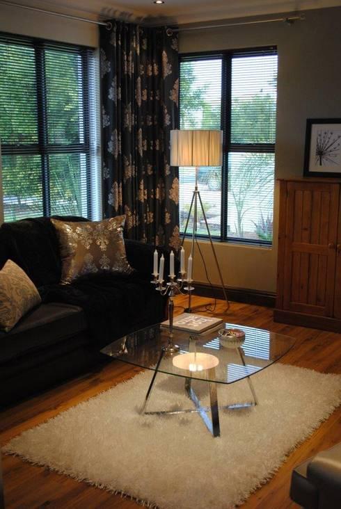 Formal Lounge: modern Living room by Salomé Knijnenburg Interiors