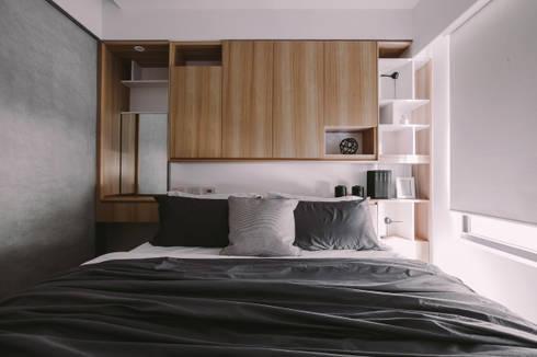主臥:  臥室 by 澄穆空間設計