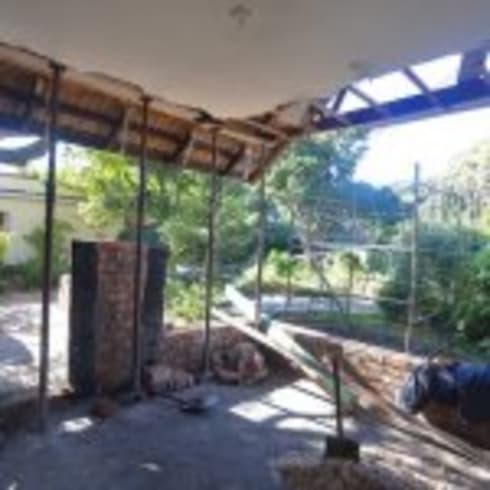 House Bezuidenhout:  Patios by Eco Design Architects