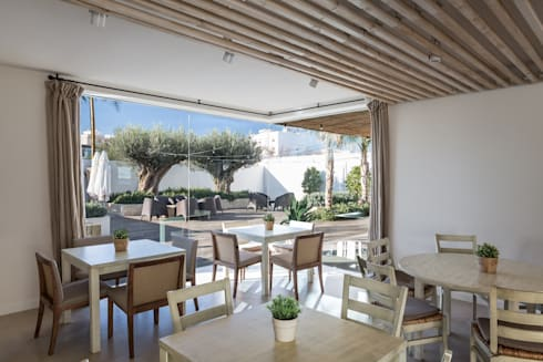 Restaurante la ferrera en pinedo de versea arquitectura - Restaurante en pinedo ...