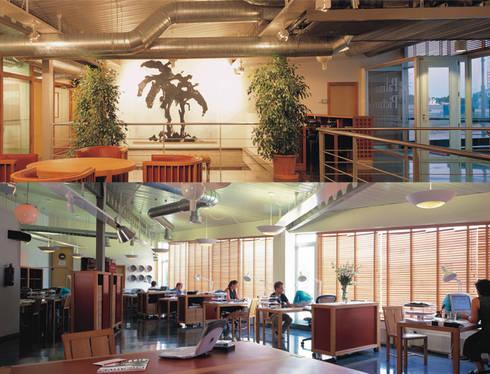 Palma Pictures film Studios in Marratxi:  Office buildings by Tono Vila Architecture & Design