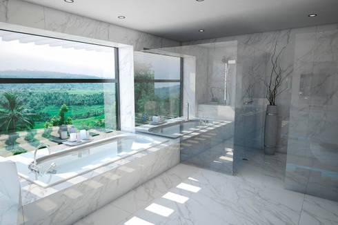 Baño : Baños de estilo moderno por Vivian Dembo Arquitectura
