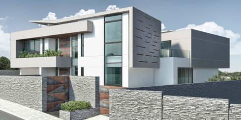 Casa 17: Casas de estilo moderno por Vivian Dembo Arquitectura