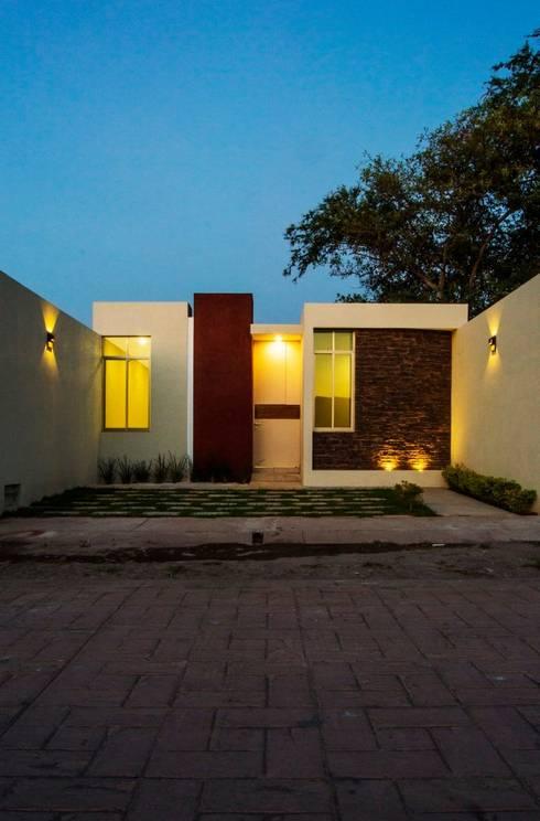 Carpatos #130: Casas de estilo moderno por MOVE Arquitectos