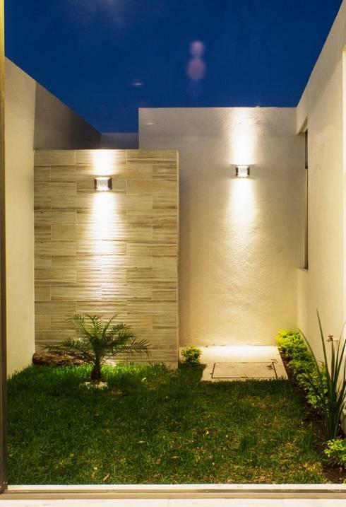 Jardines de estilo  por MOVE Arquitectos