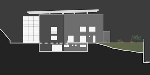 Casa 3: Casas de estilo moderno por Vivian Dembo Arquitectura