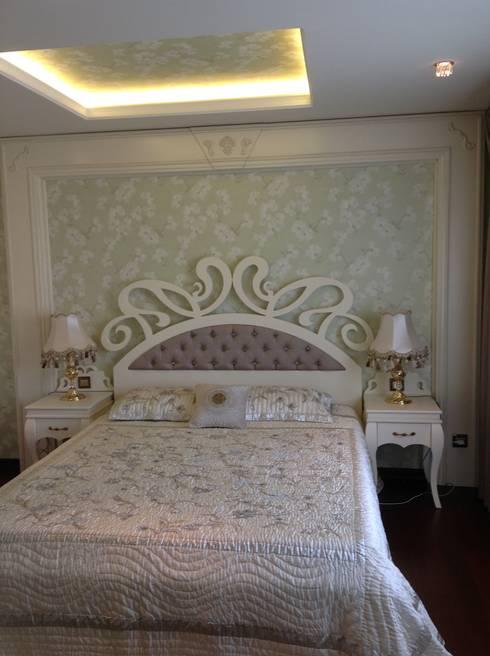 غرفة نوم تنفيذ Attelia Tasarim