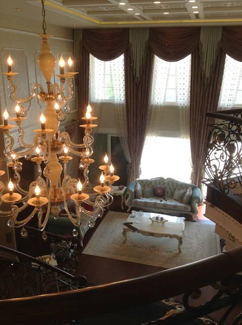 غرفة المعيشة تنفيذ Attelia Tasarim