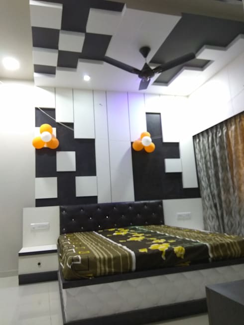 Proposed Interior Of Bungalow.: modern Bedroom by KANAKIA INTERIOR AND CONSULTANCY