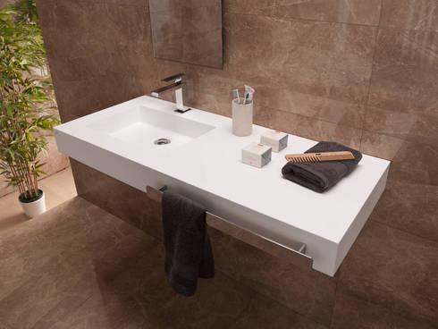 Dupont Corian Mutfak Tezgahı:   by KREA Granit- Mutfak Banyo Tezgahları