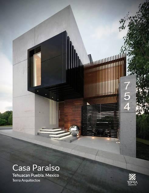 Casa paraiso de fermin de la mora homify for Casa moderno kl