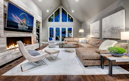 Award Winning Winslow Project: classic Living room by Futurian Systems