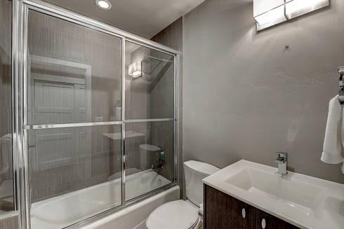 Award Winning Winslow Project: classic Bathroom by Futurian Systems