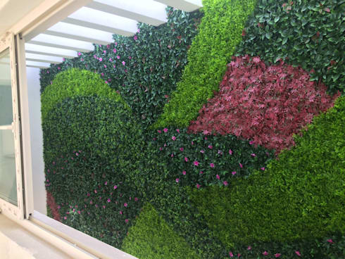 muros verde artificial de arquitectura org nica viviana