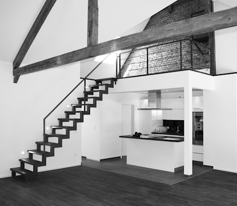 innenarchitektur und interieur von hauser architektur homify. Black Bedroom Furniture Sets. Home Design Ideas