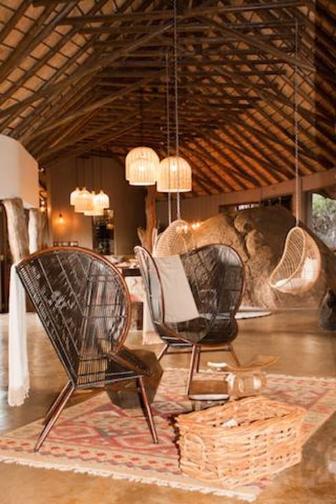 Madikwe Hills Private Lounge :  Hotels by Nowadays Interiors