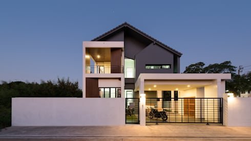 Songprapa House:   by archimontage design fields sophisticated