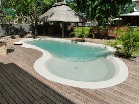 piscine biodesign di arte pietra homify. Black Bedroom Furniture Sets. Home Design Ideas