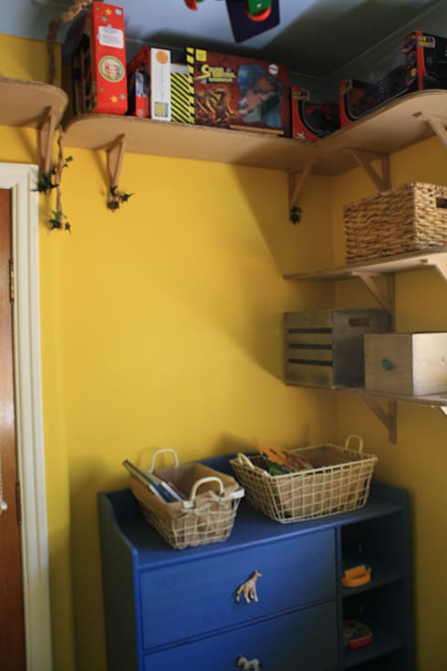 after: eclectic Nursery/kid's room by Girl About The House
