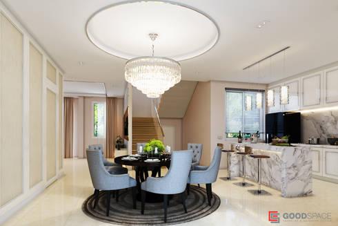 ตกแต่งภายใน บ้านคุณ กิฟท์:  ตกแต่งภายใน by  good space  plus interiror- architect co.,ltd
