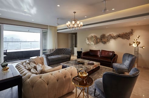 modern Living room by Interface