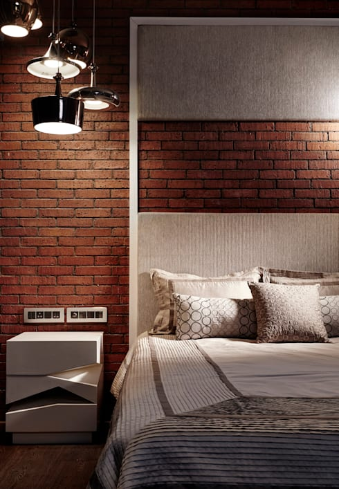 sons room:  Bedroom by Interface