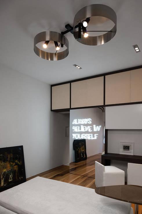 Salas de estilo  por Mohamed Keilani Architect