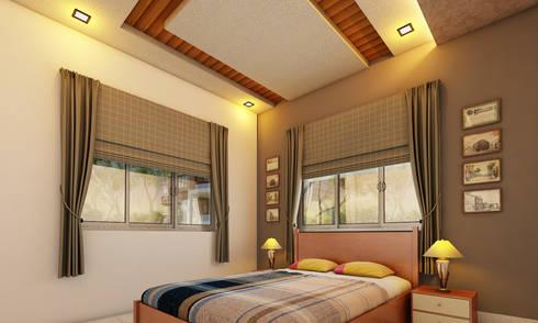 Bedroom: modern Bedroom by Altitude Interior designer