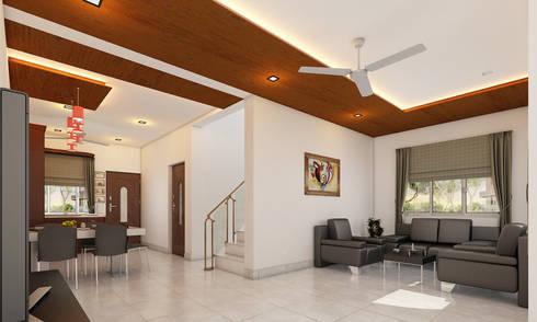 Living room..: modern Living room by Altitude Interior designer