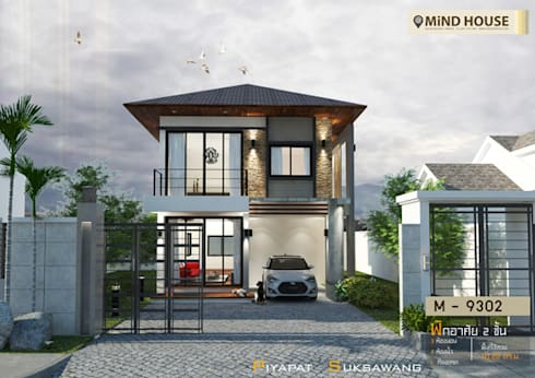 Modern Style by At Mind House_M9302:   by At Mind House