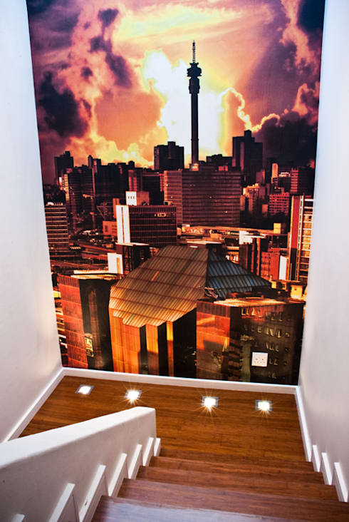 Wallpaper:  Corridor & hallway by Resurface Graphics