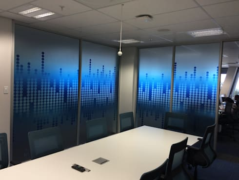Clear Vinyl Decals: classic Study/office by Resurface Graphics