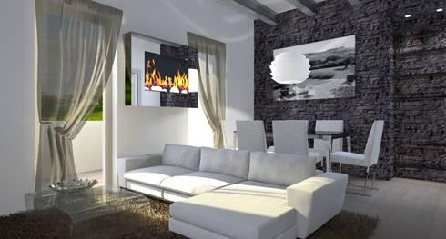 Casa Vacanza con Soppalco di Architettiamo Progetti On-Line   homify