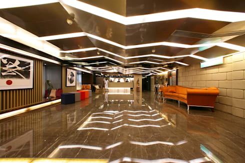 文華道會館:  飯店 by 大也設計工程有限公司 Dal DesignGroup