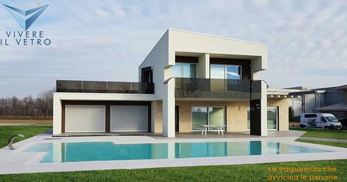 Una casa da sogno di vivere il vetro homify for Progetti interni case moderne