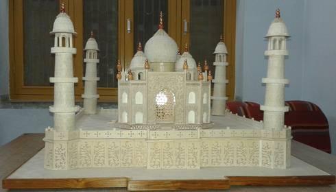 Taj Mahal Sculpture:  Artwork by Indian Art Ideas