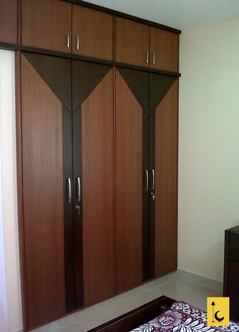 Mohtisham Greenwoods, Mangalore: modern Bedroom by Indoor Concepts