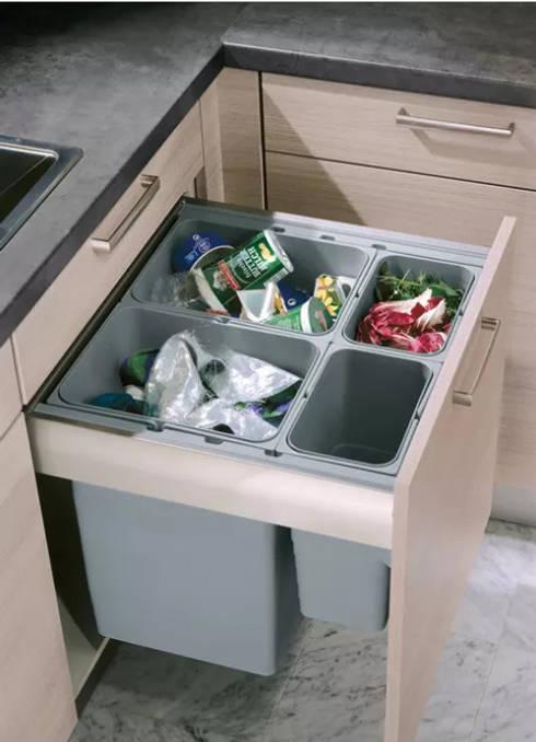 کوڑا دان رکھنے کی ٹپ:  Kitchen by lancerisb