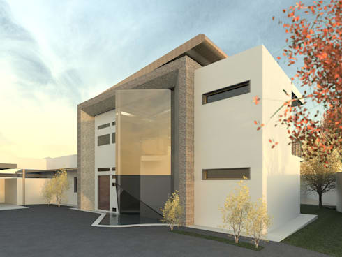 Modern House in Secunda /1: modern Houses by Essar Design