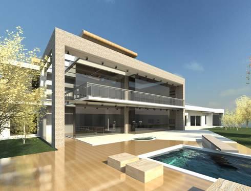 Modern House in Secunda /2: modern Houses by Essar Design