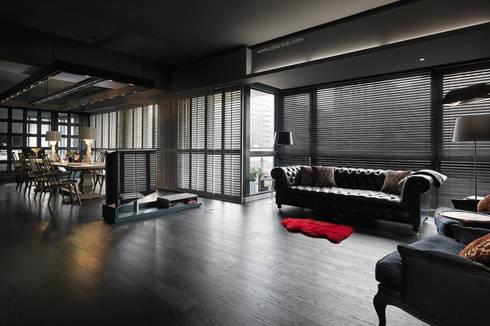 客廳 by Taipei Base Design Center