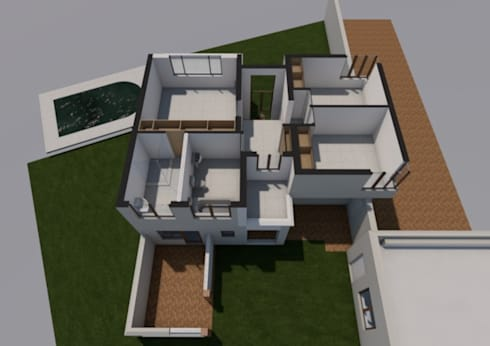 First Floor existing:   by Seven Stars Developments