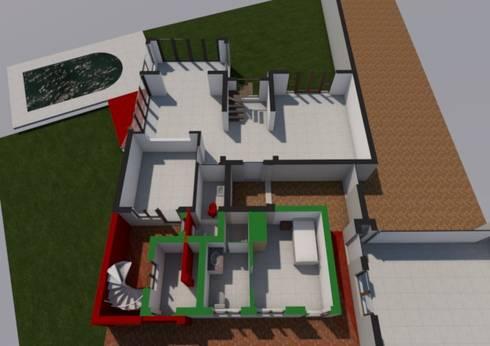 Ground Floor Planned:   by Seven Stars Developments