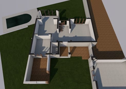 Ground floor existing:   by Seven Stars Developments
