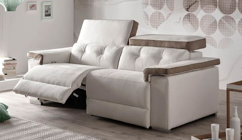 Sof s y sof s con relax de confort online homify for Sofas relax con motor