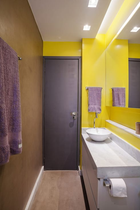 Baños de estilo  por Botti Arquitetura e Interiores-Natália Botelho e Paola Corteletti