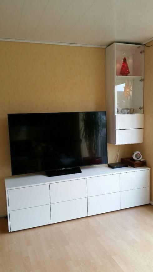 Tv-Möbel - Hängeboard Von Schrankwerk.De | Homify
